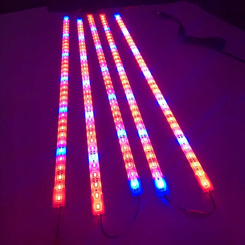 RAYWAY светать Фито лампа DC12V Водонепроницаемый рассады аквариум светодиодный 5730 полный спектр аквариум лампа в форме растения светодиодный для растений, 5 шт./лот
