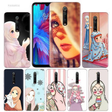 Lovely Muslim Girls Case for Xiaomi Redmi Note 7 7S K20 Y3 GO S2 6 6A 7A 5 Pro MI Play 9T A1 A2 8 Lite Poco F1 Soft Phone Bags(China)