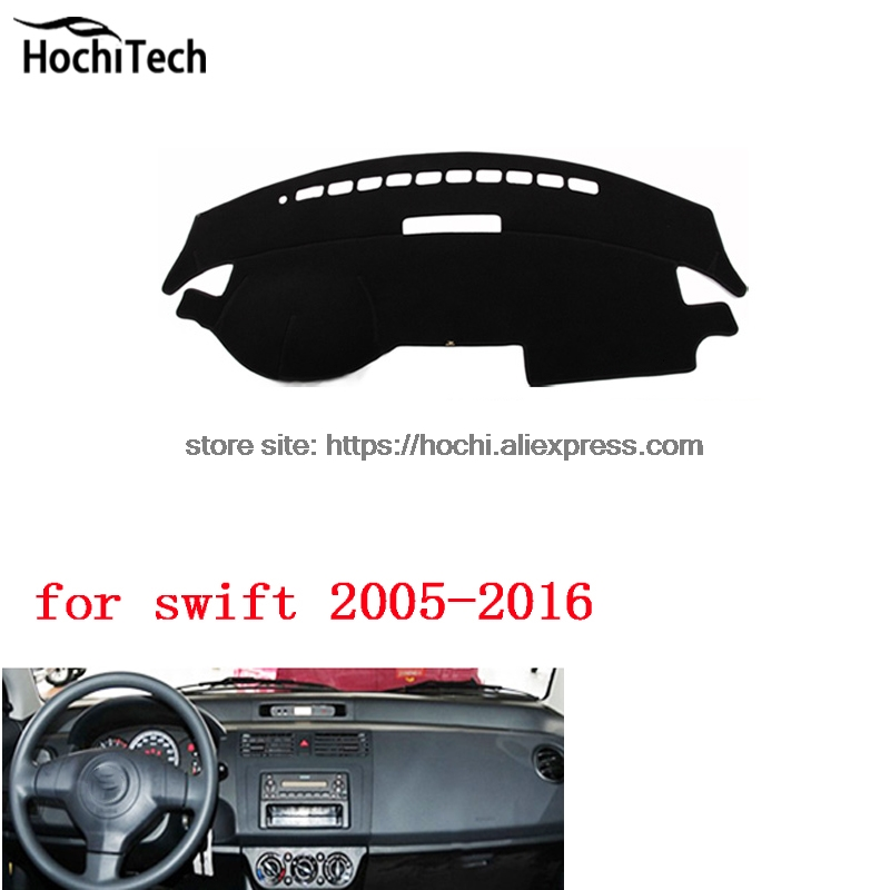 dashboard mat Protective pad Shade Cushion Photophobism Pad car styling accessories for Suzuki swift 2005 to 2016 for toyota prius 2012 2013 right hand drive dashboard mat protective pad black car styling interior refit sticker mat products