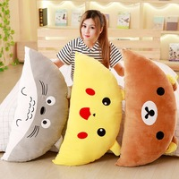 1pc 95cm*45cm Cartoon Pillow Stuffed Soft Kawaii Totoro Bear Plush Pillow Cushions Birthday Gifts Kids Girls Gifts Decoration