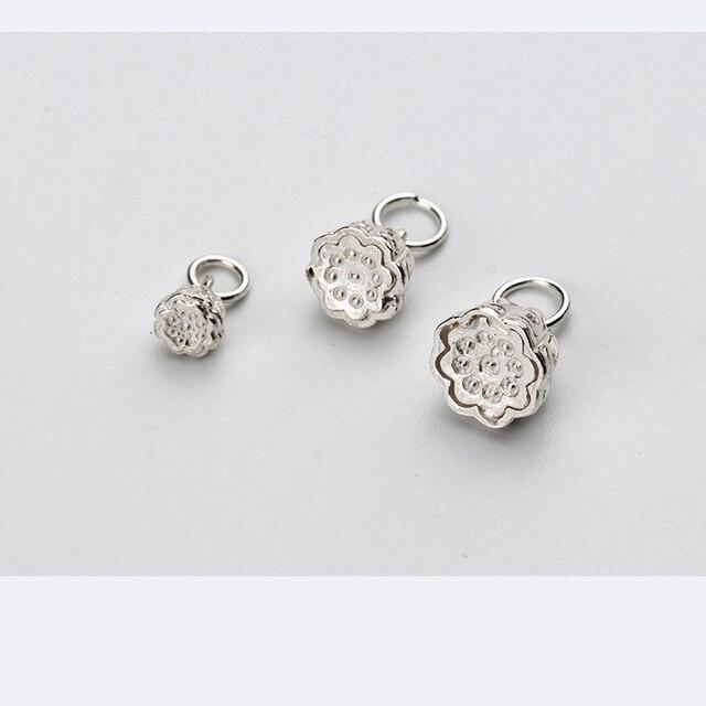 Uqbing подлинное Серебро diy ювелирных изделий браслет фурнитура