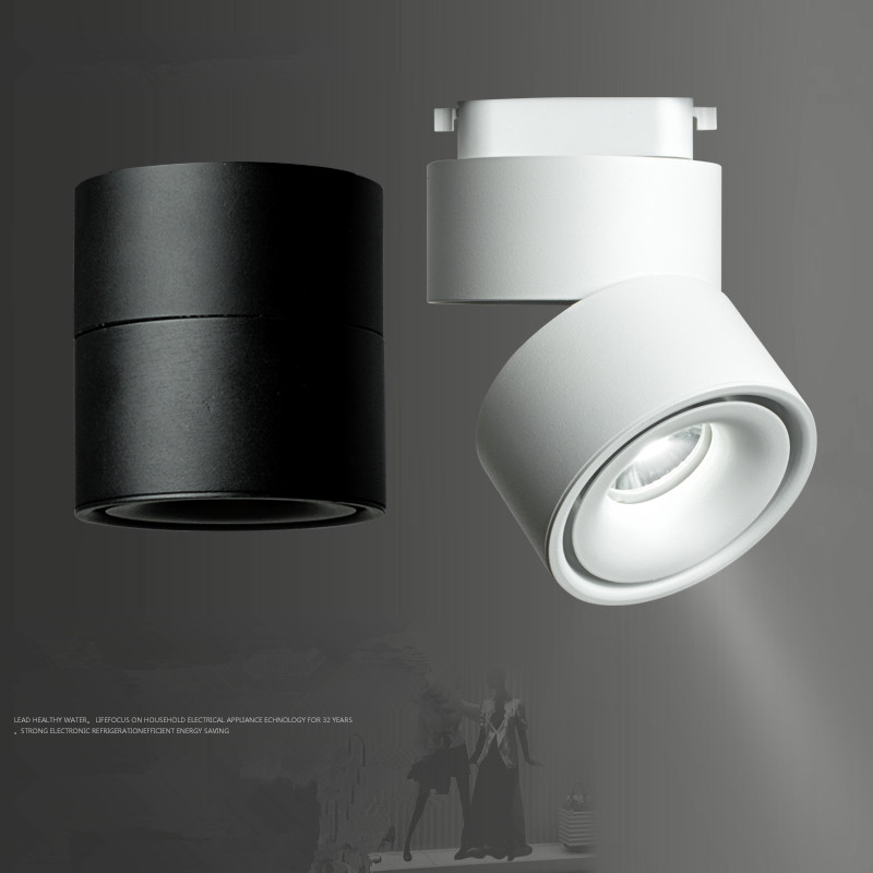 Modern track lighting Suspended Modern Track Light Led Rail Lamp 7w 10w 12w Surface Mounted Track Lighting Fixture 360 Degree Rotation Cloth Shop Aisle Light Aliexpress Modern Track Light Led Rail Lamp 7w 10w 12w Surface Mounted Track