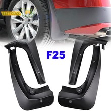 FIT FOR BMW X3 F25 2011 2012 2013 2014-2017 MOLDED MUDFLAPS MUD FLAP SPLASH GUARD MUDGUARDS FRONT REAR FENDER ACCESSORIES(China)