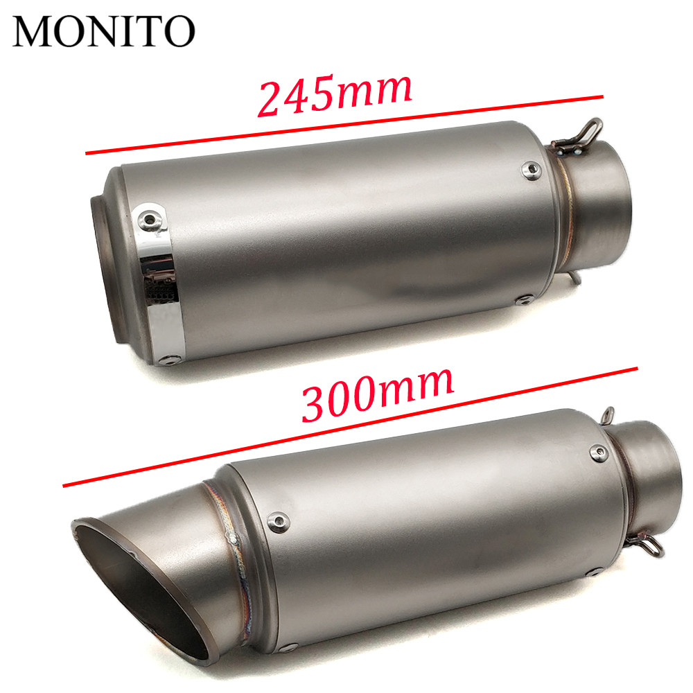 2019 Motorcycle SC exhaust escape Modified Exhaust Muffler DB Killer For BMW F800GS F800GT F800S F800ST Adventure F800 GS GT R in Exhaust Exhaust Systems from Automobiles Motorcycles