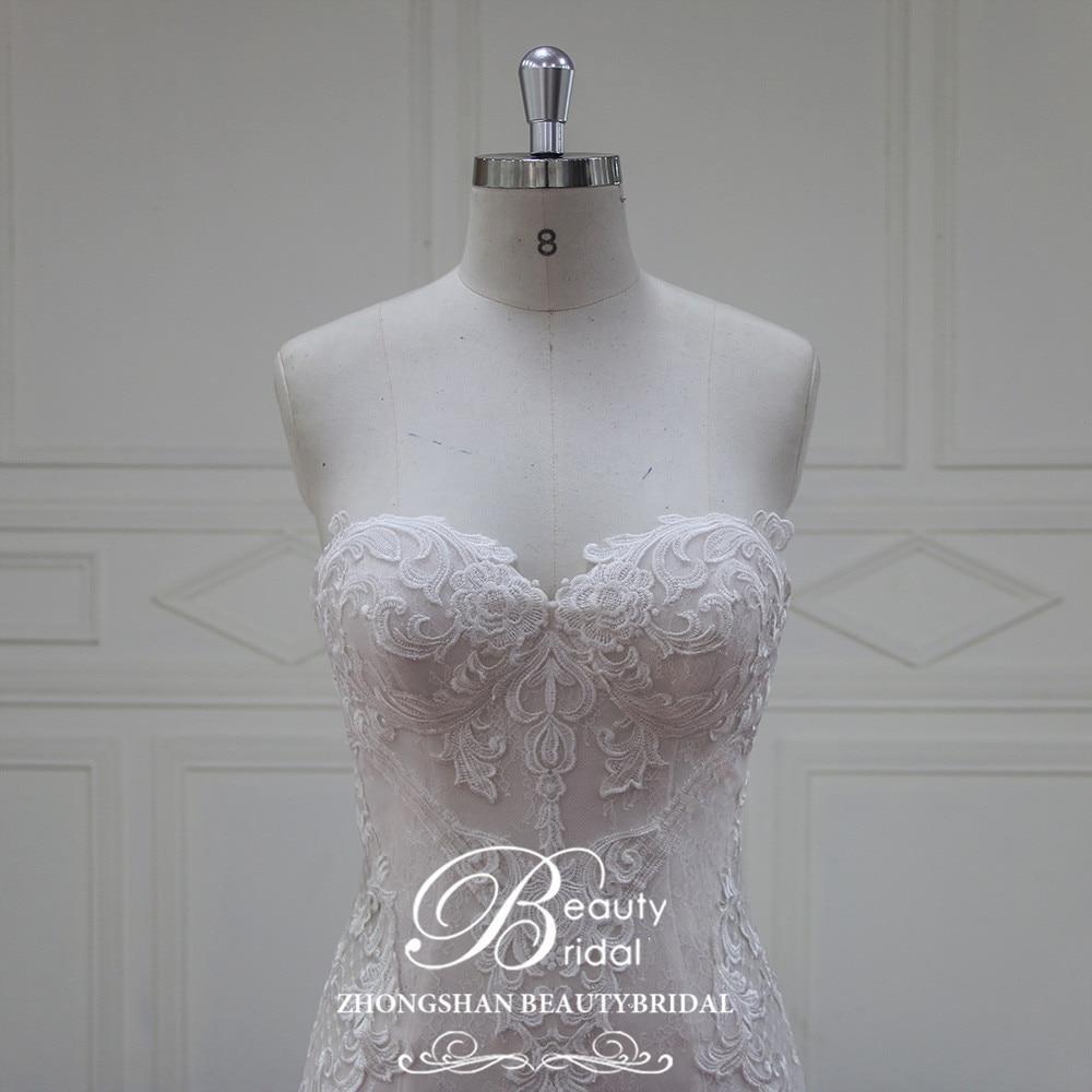 Eslieb Vestido De Noiva rochii de mireasa fara margele 2018 Sweethart - Rochii de mireasa - Fotografie 4