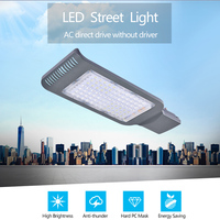 AC210 230V 40W Cold White Ultrathin Outdoor Lighting Led Street Light IP65 Waterproof Path Streetlight Lamp