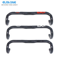ELITA ONE Full Carbon Fiber Road Bicycle Handlebar Ud Matte 210g 400 420 440mm Bike Parts