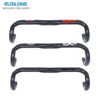 ELITA ONE Full Carbon Fiber Road Bicycle Handlebar Ud Matte 210g 400 420 440mm Bike Parts