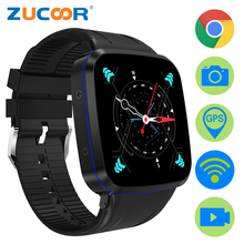 3G Android Smart Watch GPS WiFi Smartwatch ZW92 Support SIM Card 5MP Camera Fitness Tracker MTK6580 Mp3 Video Wireless Charge