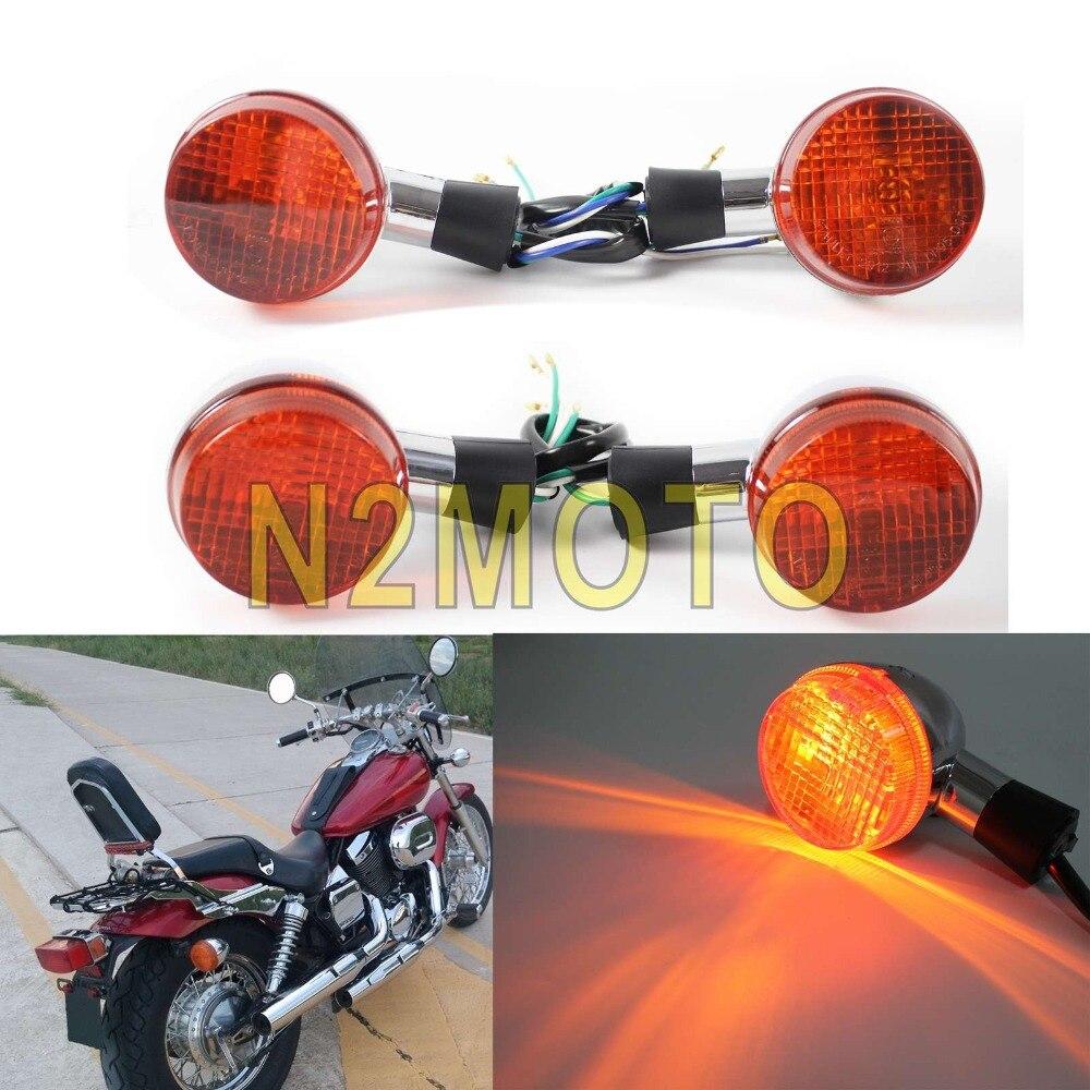 Turn Signal Light Justech 4PCs E-marked Universal Waterproof ...
