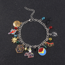 2019 NEW arrivals Captain Marvel Avengers Bracelet Logo Pattern combination charm For Woman Jewelry Gift for children