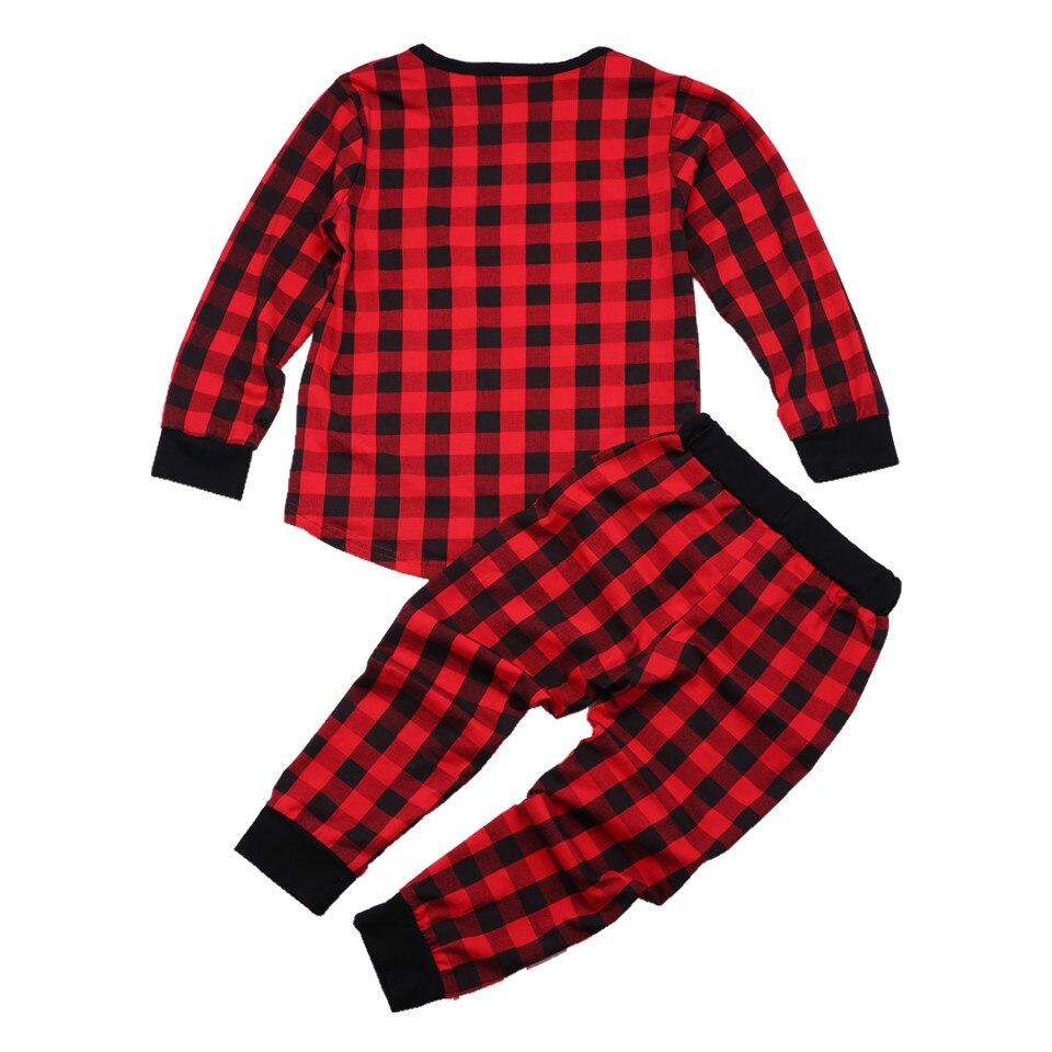 f3e6de089b75 Mom and Daughter Plaid Christmas Pajamas Mather and Kids Winter ...