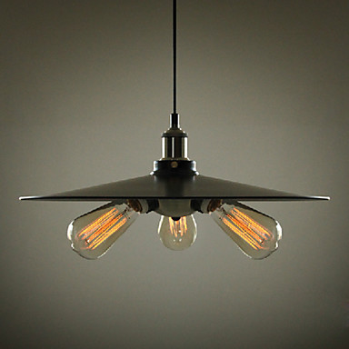 180w Retro Loft Style Edison Bulb Vintage Industrial Pendant Lighting Lamp With 3 Lights For Home Lighting цена