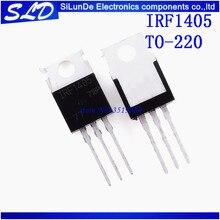 شحن مجاني 50 قطعة/الوحدة IRF1405PBF إلى 220 IRF1405P TO220 IRF1405 جديدة ومبتكرة