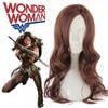 Batman V Superman Dawn Of Justice Wonder Woman Wig Princess Diana Cosplay Fashion Long Dark Brown