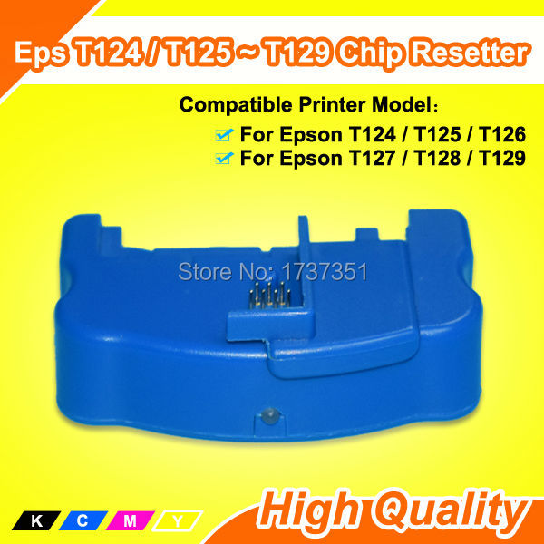 T128 T1281 chip resetter for Epson syylus S22 SX125 SX420W SX425W SX235S SX130 SX435W SX230 SX440W BX305F BX305FW printer картридж colouring cg 1282 cyan для epson s22 sx125 sx130 sx420w sx425w office bx305f bx305fw