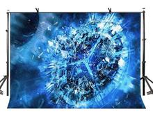 150x220cm Science Fiction Backdrop Time Travel Science Fiction Theme Photography Background and Time Shuttle Party Screen sudden fiction