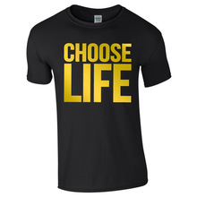 a52f7e3e Wham Tribute To George Michael Choose Life T Shirt Men Women Trainspotting  90's Wham 80's Retro