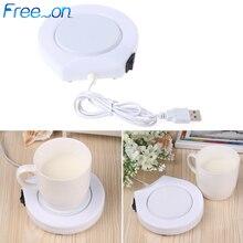 Портативный USB Электрический питанием чашки теплее Pad пластина для офиса и домашнего использования