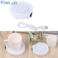 Tragbare USB Elektrisch Betriebene Trinken Tassenwärmer Pad Platte Für Büro und Zu Hause|Kochplatten|Haushaltsgeräte -