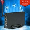 USB 3.0 для SATA Wifi HDD док-станция 5 Гбит 2.5 ''3.5'' HDD Корпус Поддержка 6 ТБ Жесткий Диск С Беспроводной routerFunction