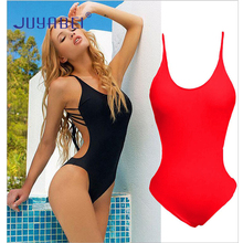 JUYABEI Brand Sexy Girl Bikini Sets Ladies Brazilian Summer Swimwear Women One Piece Backless Swimsuit Sportwear Bathing Suit
