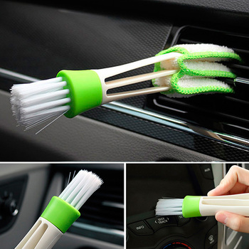 For Audi A3 8P 8I 8V A4 B6 B8 B5 B7 A6 C5 C6 C7 4F C4 80 A5 Q5 Q7 Q3 TT 100 A1 A8 A7 S3 S4 S8 R8 RS Auto Car Cleaning Brush Tool image
