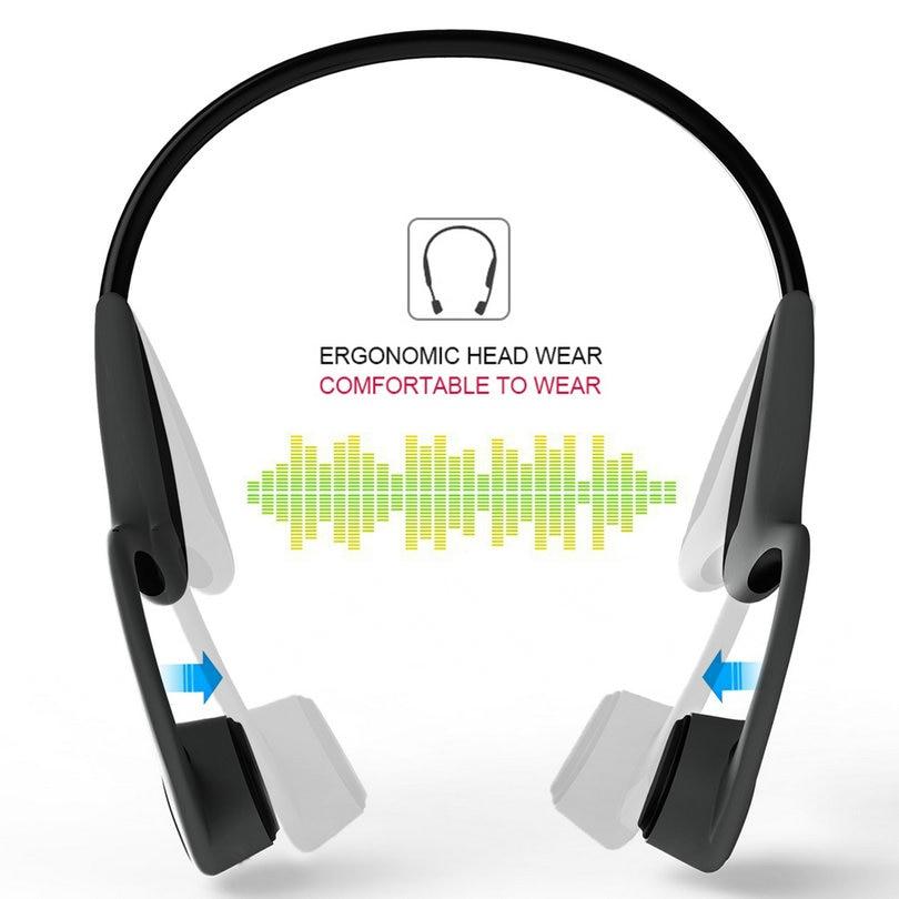Bone Conduction Bluetooth Headphones Z8 Sweatproof Stereo Earbuds Earphones Built-in Mic Noise Cancellation Wireless Headset wireless headphones earbuds built in microphone stereo headphone headset handsfree noise canceling handsfree bluetooth 4 1 bt815