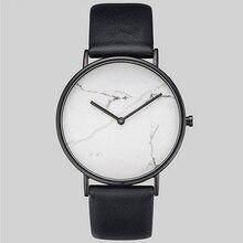 Saat Marble Dial Simple Women Watches Meboyixi Ladies Watch Minimalist Clock Vintage Wristwatch relogio feminino masculino