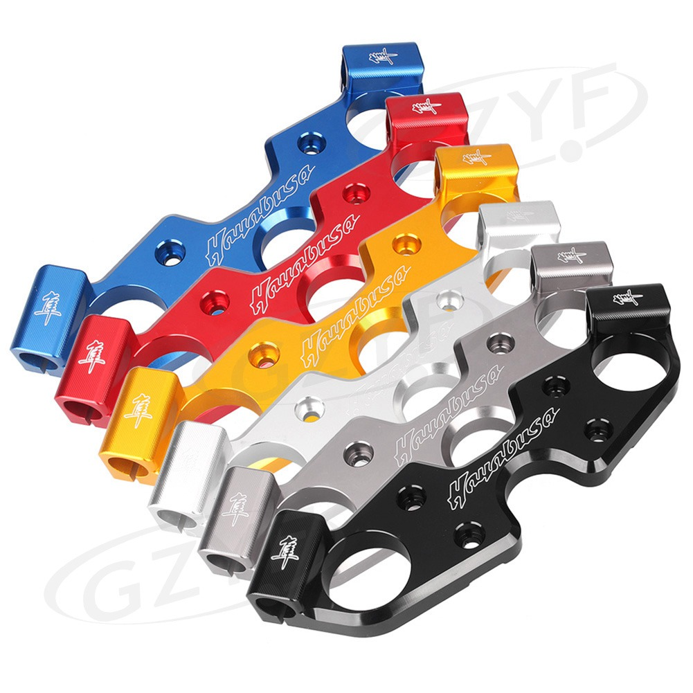 CNC Motorcycle Front Upper Top Clamp Triple Tree For Suzuki GSX1300R GSXR1300 Hayabusa 2008 2009 2010