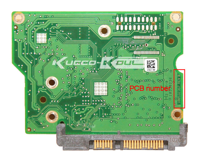 hard drive parts PCB logic board printed circuit board 100532367 for