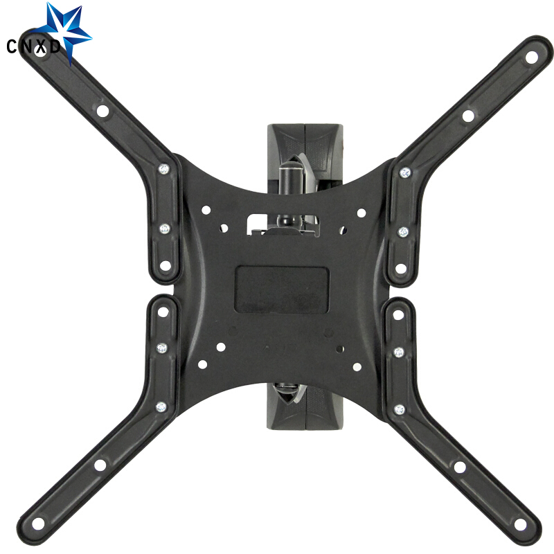 """Full Motion TV Wall Mount for Most 26""""-55"""" LED Flat Screen Monitor up to 88lbs VESA 400x400 with Swivel Extension Arm"""