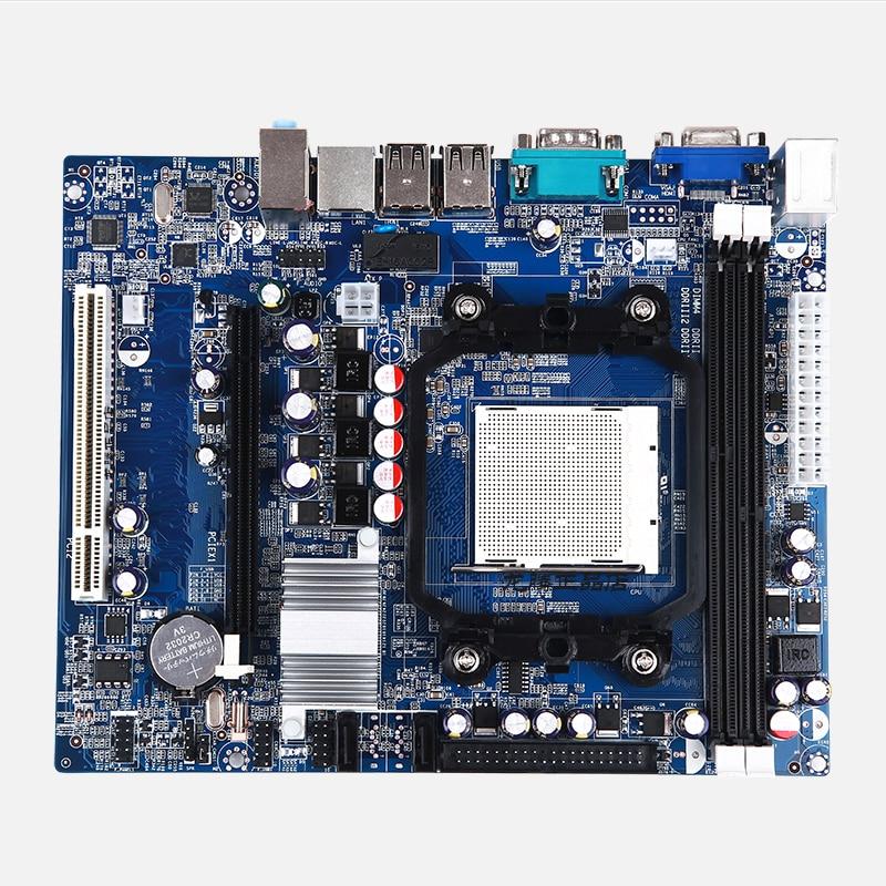 все цены на New Desktop Motherboard NC61 DDR2 DDR3 AM2/AM3/940/938 AM2/AM2+/AM3 free shipping mainboard онлайн