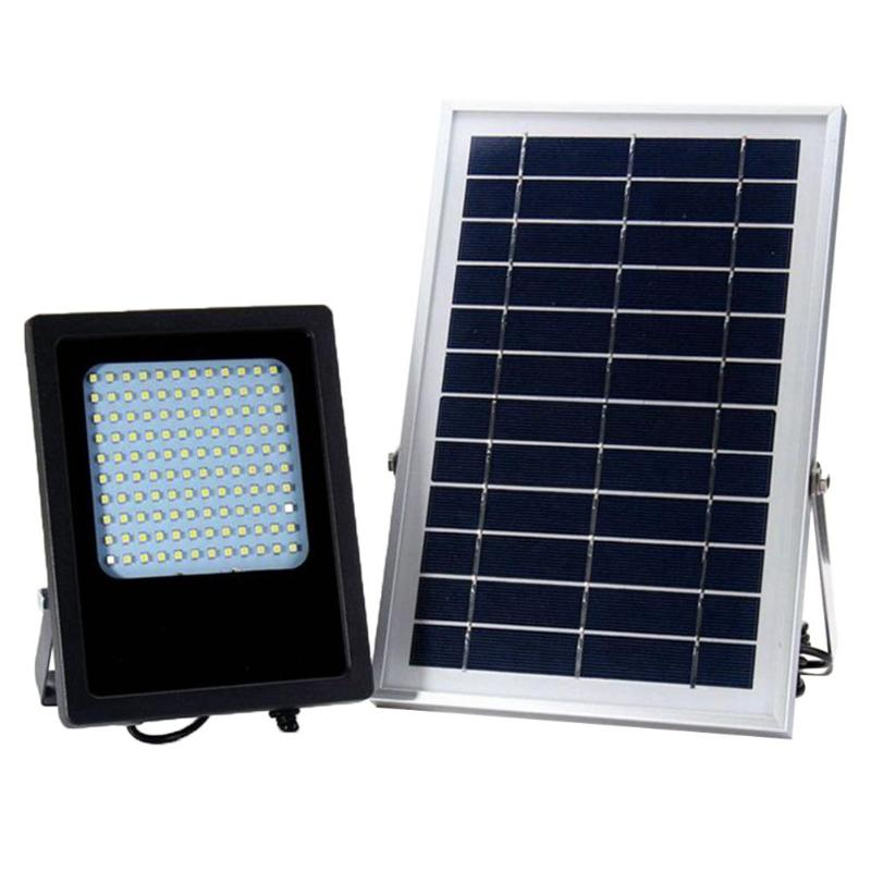 120 LED capteur de lumière solaire Spot d'inondation extérieur jardin mur lumières étanche panneau cour lampe solaire réverbère