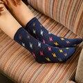 Las mujeres en calcetines nuevo rayo de imágenes de dibujos animados de alta calidad material de algodón peinado 5 Pares