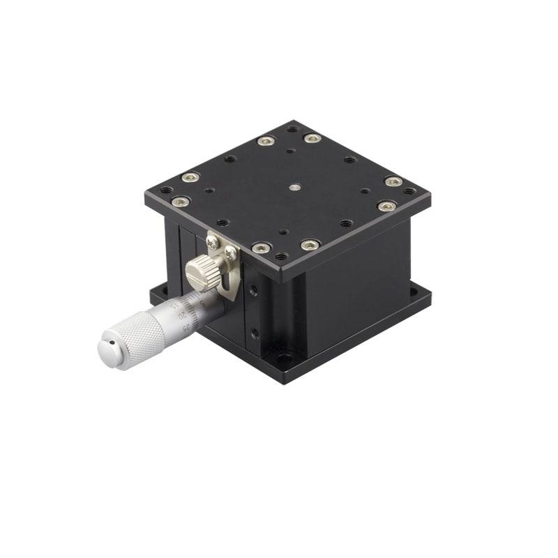 PT-SD60 Precise Manual Lift, Z-axis Manual Lab Jack, Elevator, Optical Sliding Lift, 6mm Travel