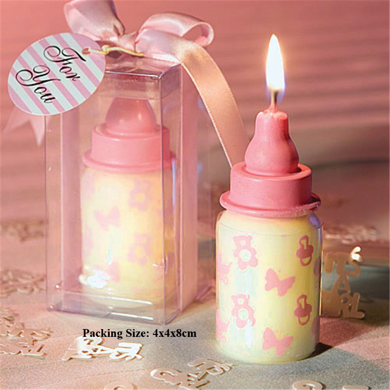 baby feeding bottle candle birthday party supplies bottle feeding candle cake decorating children kids baby boy birthday candle in Cake Decorating Supplies from Home Garden