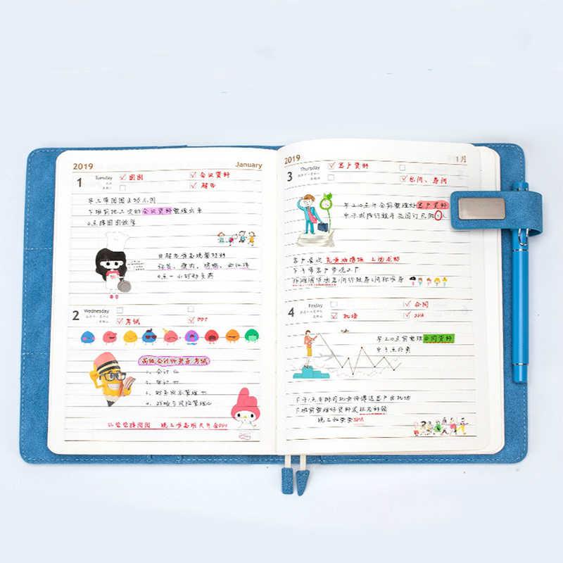 A5 Lọ Chương Trình Nghị Sự Năm 2020 Lập Kế Hoạch Tổ Chức Hàng Ngày Hàng Tuần Hàng Tháng Quy Hoạch Nhật Ký Xách Tay Dễ Thương Kế Hoạch Note Sổ Tay Notepad