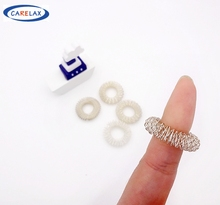 5PC Finger Massage Ring Acupuncture Spring Ring Health Care Hand Massager