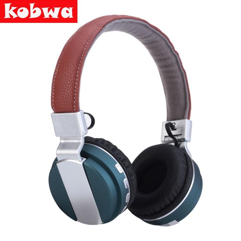 Kobwa Wireless Bluetooth Headphone headset BT-008 Foldable Headphones Bluetooth earphone with Microphone For iPhone Samsung remax 2 in1 mini bluetooth 4 0 headphones usb car charger dock wireless car headset bluetooth earphone for iphone 7 6s android
