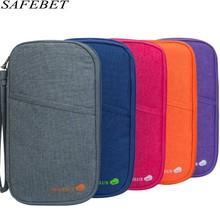 SAFEBET Card Card Package для органайзера Кредитные защитные чехлы Документы Пакет для карточек Женский паспортный держатель Многоразовые карманы