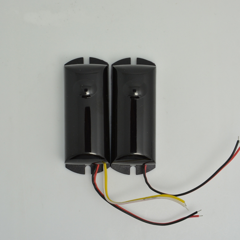 (1 pair) security alarm wired Mini infrared beam sensor water proof from 1meter to 6 meters Wall Windows anti thief 1 pair stand alone gsm magnetic door open alarm car windows anti thief support russian english black color