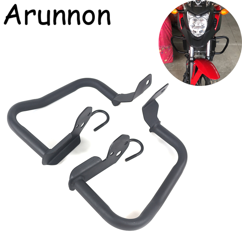 Free delivery Motorcycle Highway Engine Guard <font><b>Crash</b></font> <font><b>Bar</b></font> Frame Protect Bumper For <font><b>Honda</b></font> <font><b>NC700X</b></font> NC700S NC750X NC 700 750 X S image