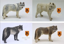 Mr.Z Simulation Animal Seventh Bomb 1/6 Prairie Wolf 001-004 Four Color for 12″ Action Figure