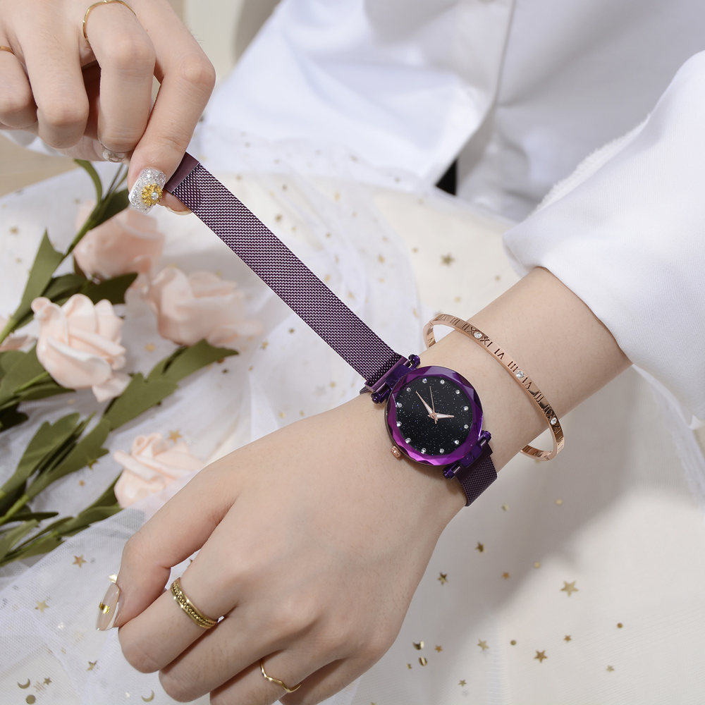 Top Brand Watches For Women -  Starry Quartz Watch   2