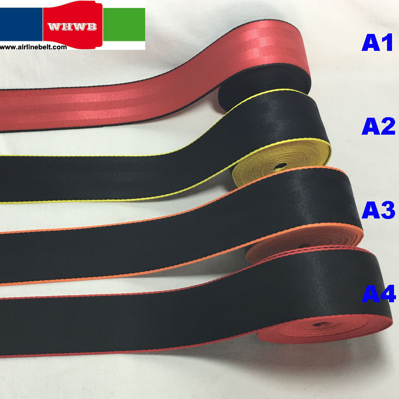 10 Meters x 4 8cm Roll Seat Belt Webbing Strap Mix color Car Seat Stroller Safety