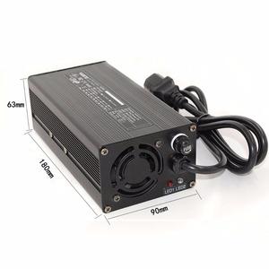 Image 4 - 58.8V 6A Li ion charger Used for 48V 52v 14S electric bike battery e scooter battery