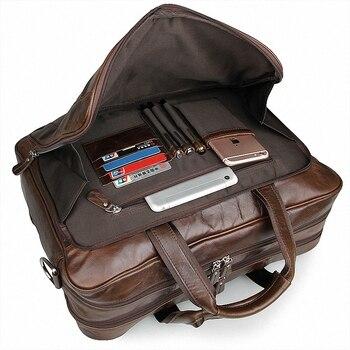 0735d9032 Special offer MVA Leather Laptop Bag 14inch Genuine Leather Men Bags  Briefcases Handbag Totes Crosssbody Messenger