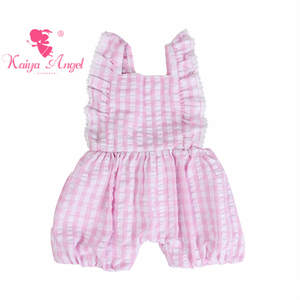 ea44f9ccecd Kaiya Angel Baby Girl Jumpsuit Autumn children clothing