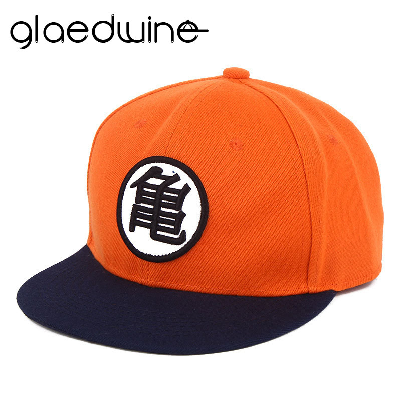 Glaedwine High quality Hip Hop Hats Dragon ball Z Goku hat Snapback Flat Casual baseball cap for Men women kids birthday GIFT skullies beanies newborn cute winter kids baby hats knitted pom pom hat wool hemming hat drop shipping high quality s30